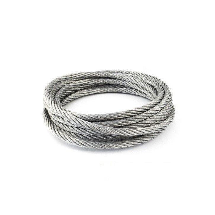 Cable de acero galvanizado 6x7+1 - 2MM