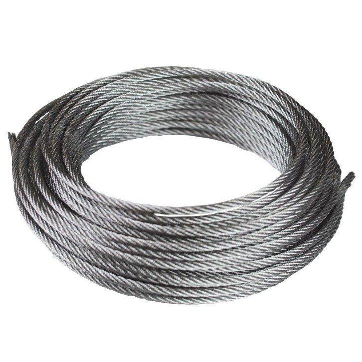 Cable de acero galvanizado 6x19+1 - 3MM