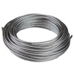 Cable de acero galvanizado 6x19+1 - 3MM