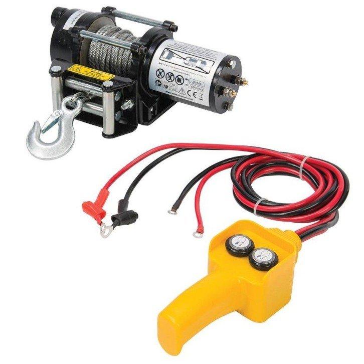 Cabestrante eléctrico 12V - 900KG