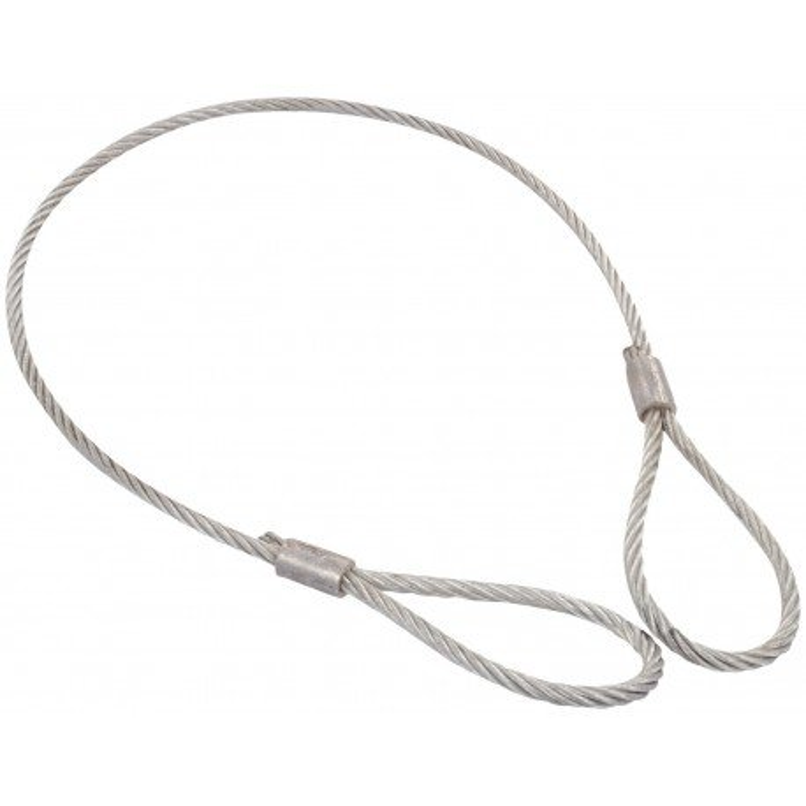 Eslinga de cable con gazas